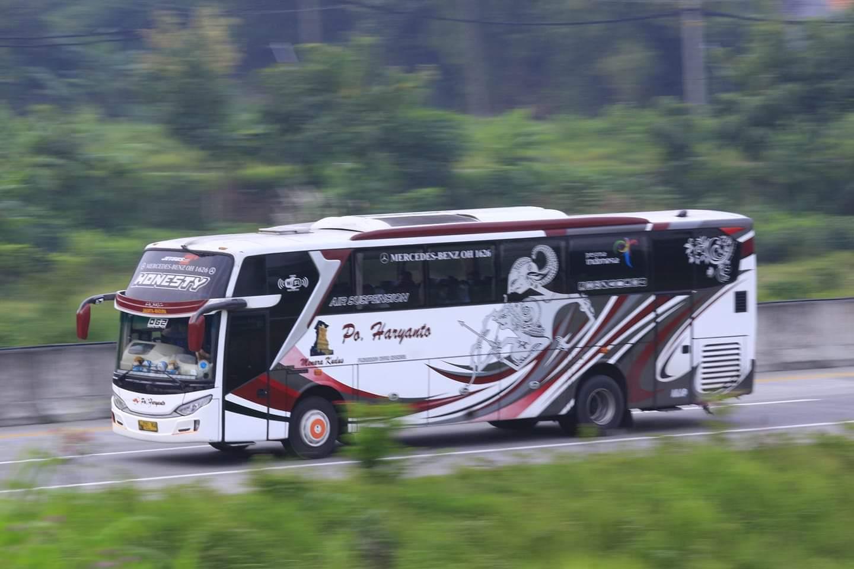 PO Haryanto Jetbus 3+ Livery Wayang