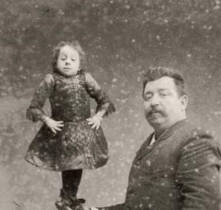 La plus petite femme de tous les temps : Johanna Paulina Musters