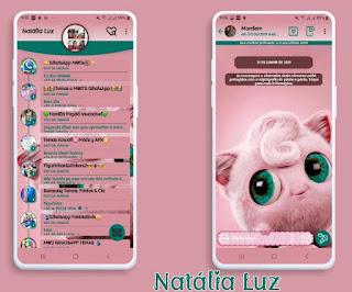 Cute Animal Theme For YOWhatsApp & Fouad WhatsApp By Natalia Luz