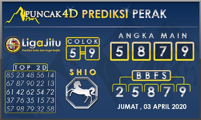 PREDIKSI TOGEL PERAK PUNCAK4D 03 APRIL 2020