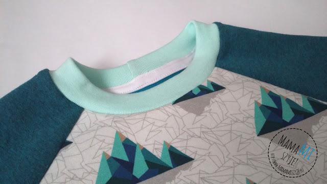 lamówka elastyczna wykorzystanie, ukrycie szwów w dresie, drapiące szwy na plecach