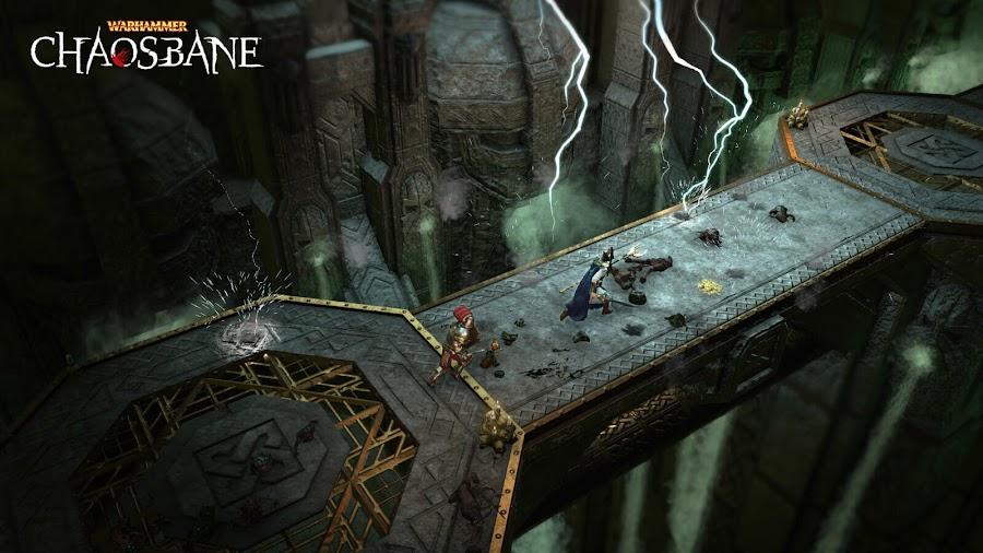 warhammer chaosbane dungeon crawler