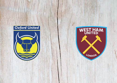 Oxford United vs West Ham United -Highlights 25 September 2019