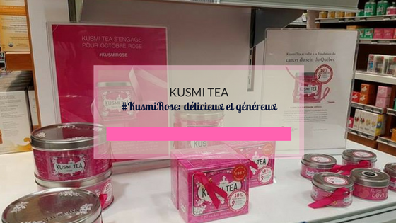 Kusmi Tea - #KusmiRose: Sweet Love délicieux et généreux
