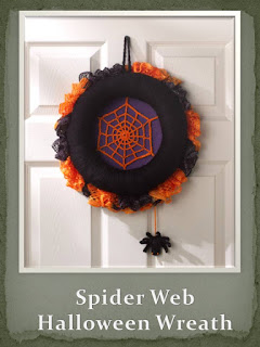 http://www.redheart.com/free-patterns/spiderweb-halloween-wreath