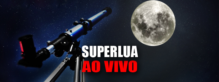 superlua abril 2021 com telescópio
