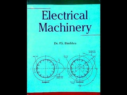 Electrical Machinery By P.s.bimbhra Ebook