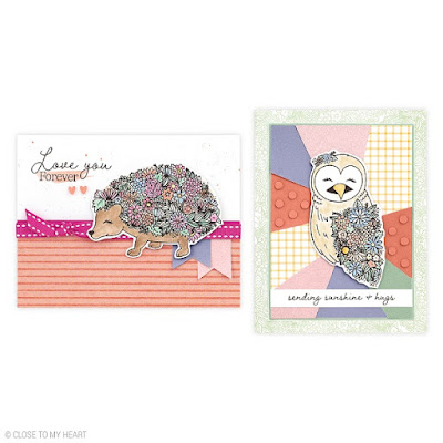 cards created with Wildflower Friendship