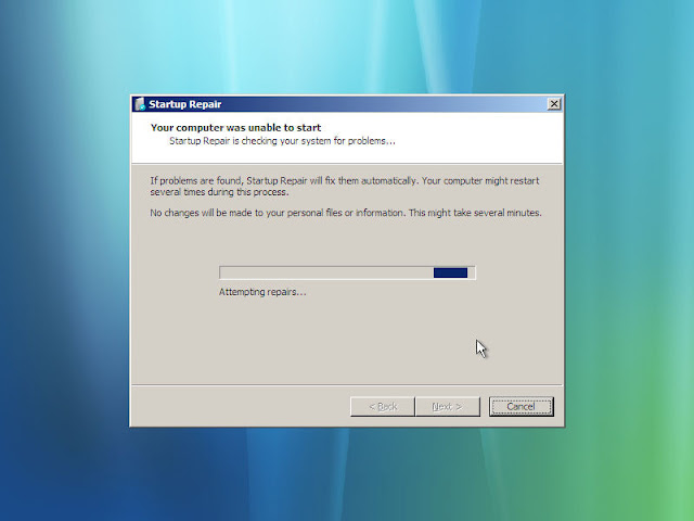 Troubleshooting Startup issues in Windows7