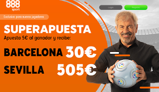 888sport superapuesta Barcelona vs Sevilla 30 enero 2019