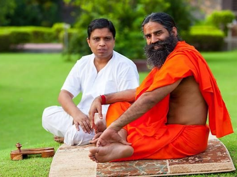 Acharya Shree Balkrishnaji and Ramdevji Maharaj