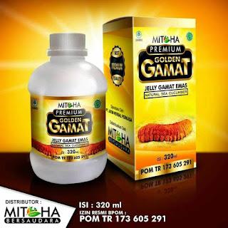 Jelly Gamat Golden Mitoha | Gamat Emas berbentuk jeli | Hub. Farikhin 0856.4229.2014