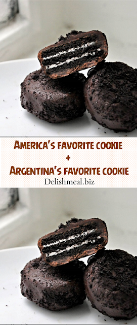 America's favorite cookie + Argentina's favorite cookie = perfection
