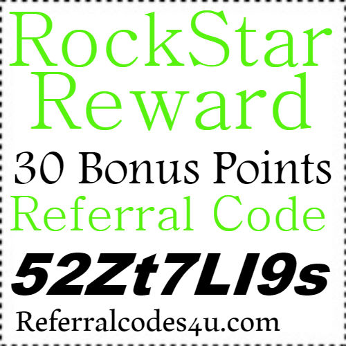 RockStar Rewards App Invite Code, Sign up Bonus and Reviews 2018-2019