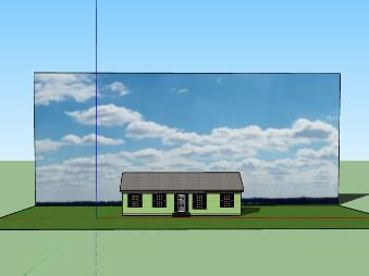 Cara Mengganti dan menambahkan Background Gambar di Sketchup