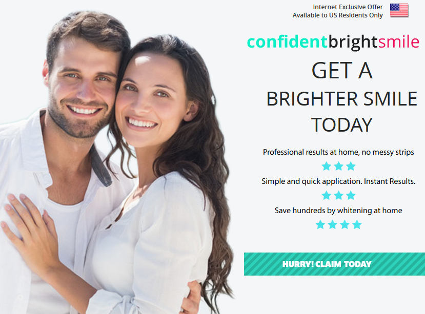 Confident Bright Smile