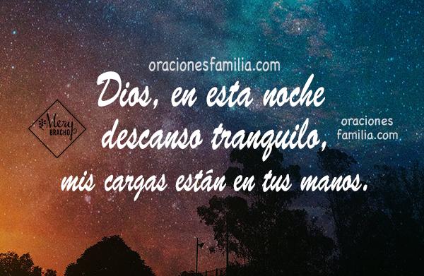 oracion cristiana de la noche para dormir tranquilo, oraciones al acostarse en la noche por Mery Bracho
