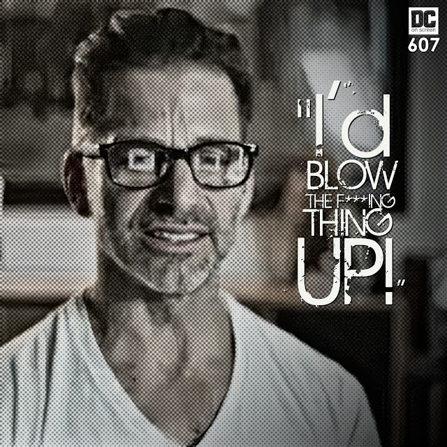 I'd Blow The F***ing Thing Up! |DC on SCREEN Podcast