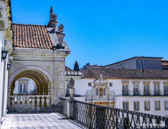 Varandas do Paço das Escolas da Universidade de Coimbra