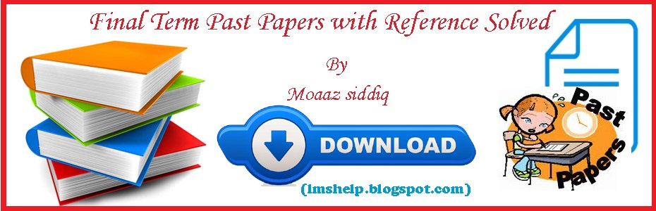 cs 201 mid term solved papers