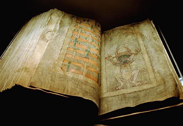 codex gigas, achoelogy, devils bible