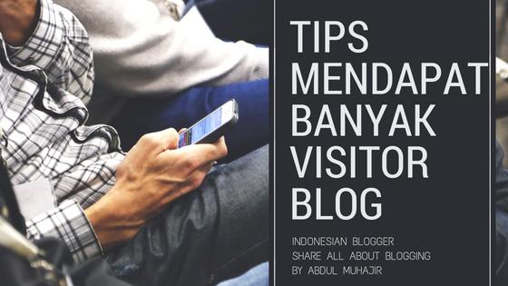 Tips meningkatkan visitor