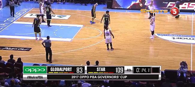Star def. GlobalPort, 109-83 (REPLAY VIDEO) September 15