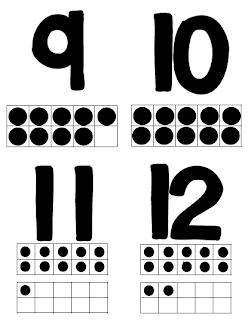 Free Printable Number Flashcards 0-20