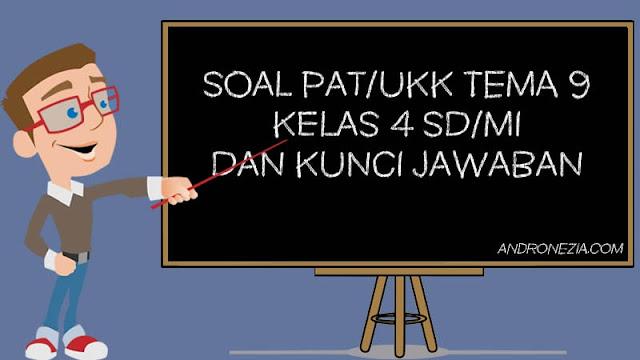 Soal PAT/UKK Tema 9 Kelas 4 Tahun 2021