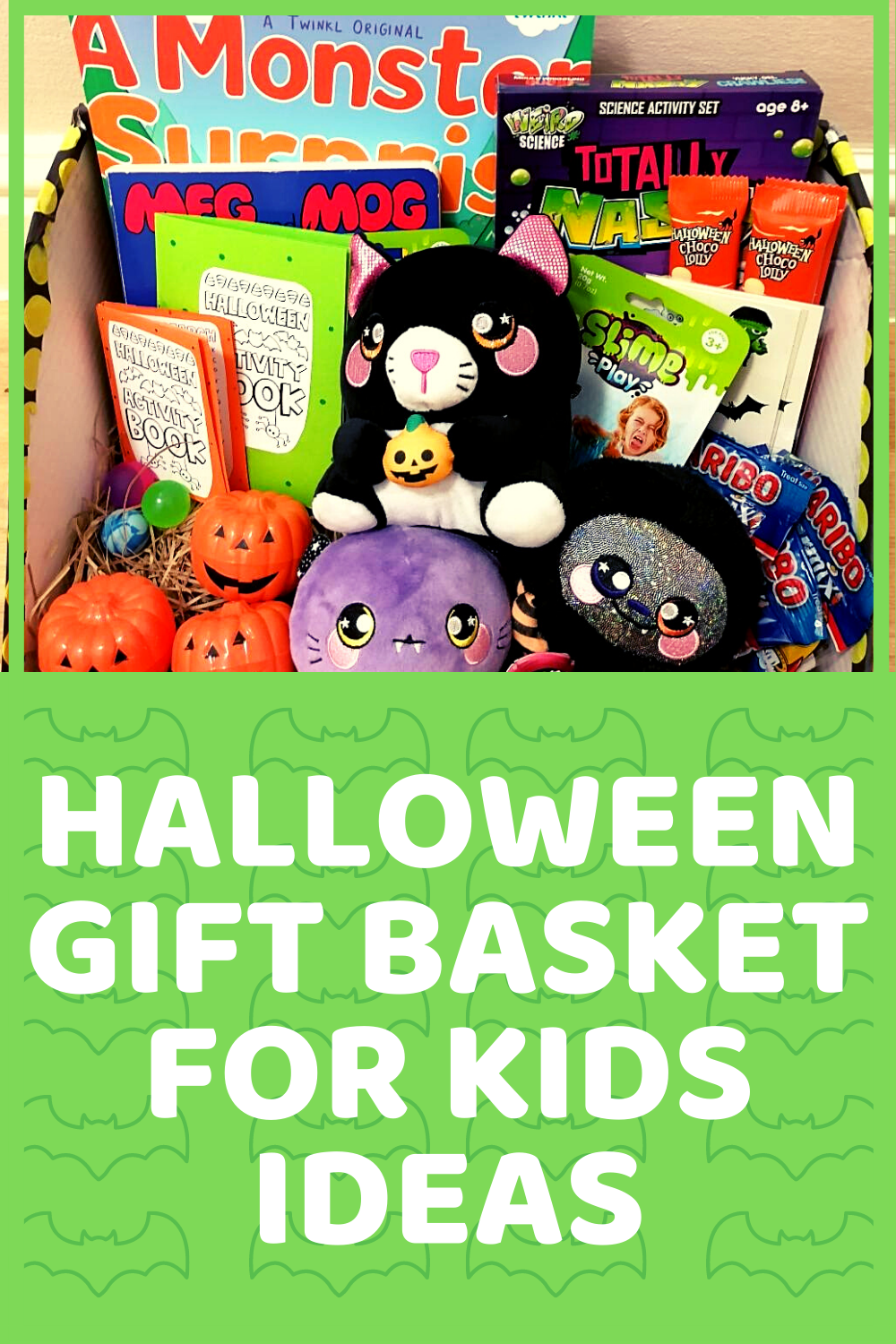 Halloween Gift Basket For Kids