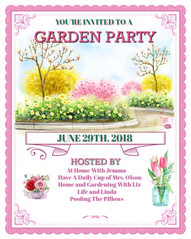 Hope you will join our June Garden Party