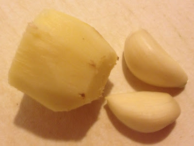 root ginger garlic clove