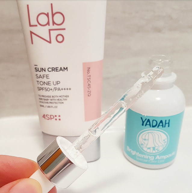 brightening ampoule yadah for acne and hyperpigmentation