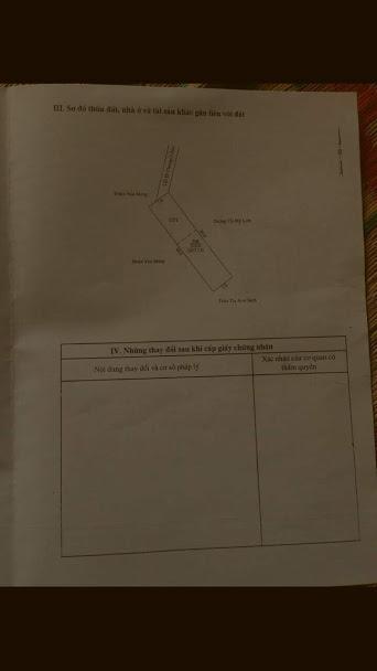 Bán gấp lô đất , Hiệp Thành, TDM , Bình Dương,LH 0934150811