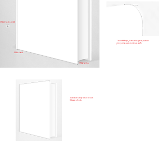 Cara Membuat Mockup Cover Buku di Photoshop, cara menggunakan pen tool di photoshop