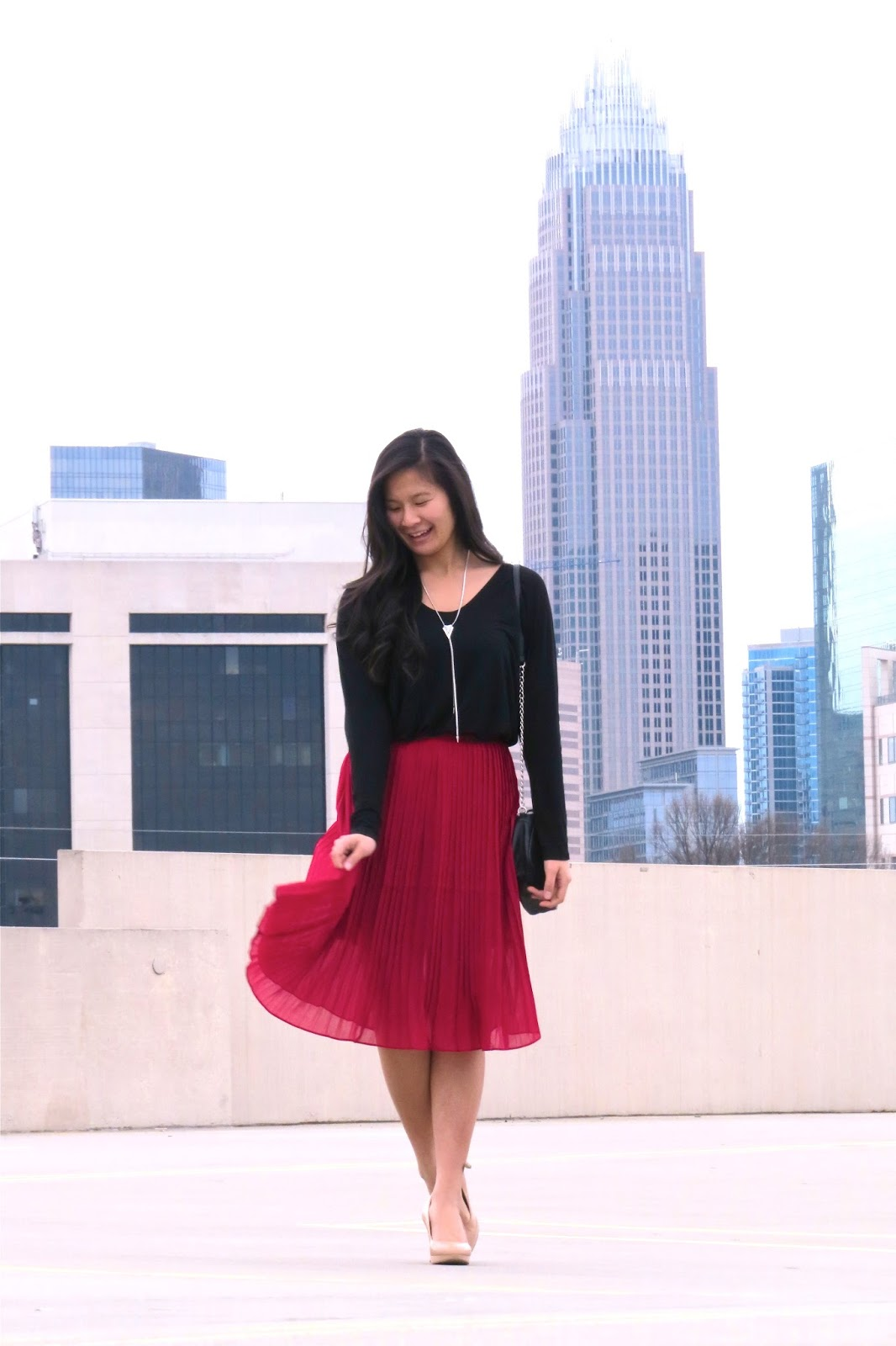 Styling_a_red_midi_skirt