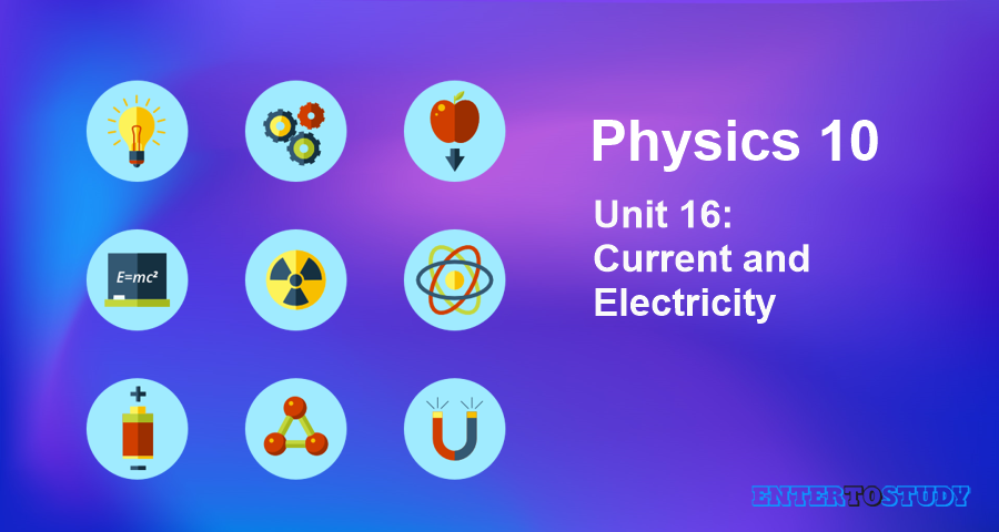 KIPS 10th Class Physics Notes Unit 16: Current and Electricity