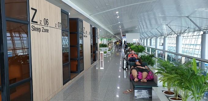 Chỗ ngủ Sleep Zone trong sân bay Tân Sơn Nhất tại Cổng 25