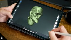 iOS iPad Game Development 3D Character Sculpting & Modeling