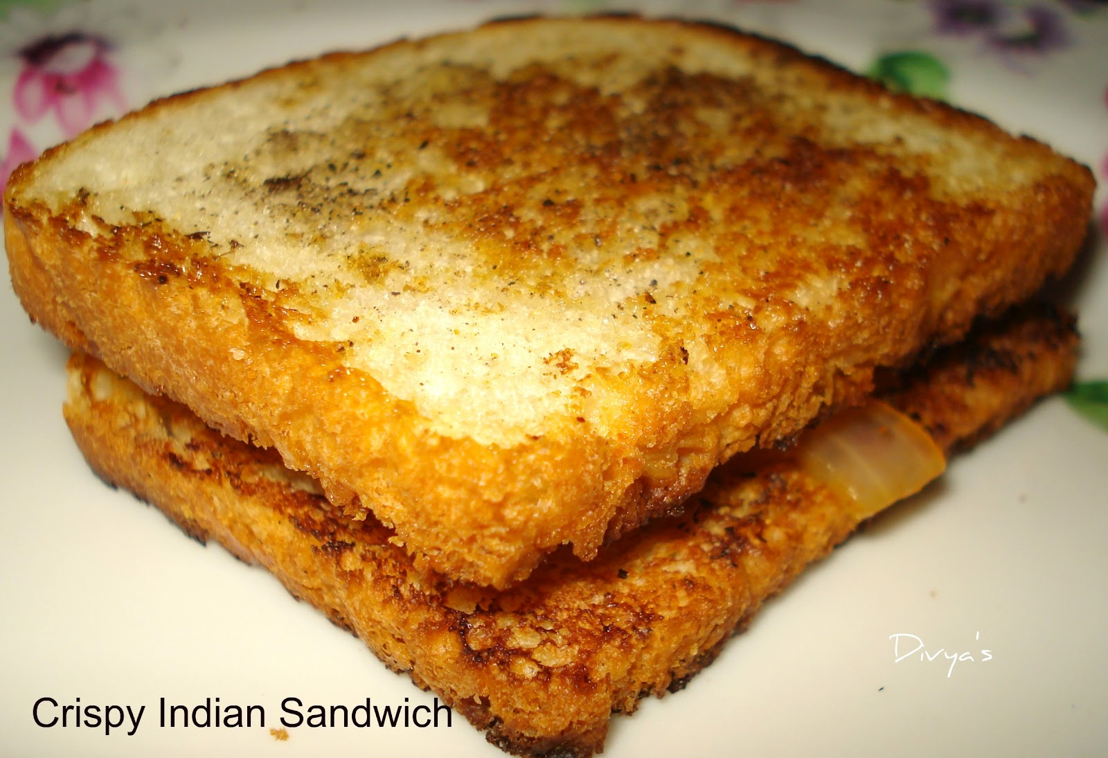 Crispy Indian Sandwich - You Too Can Cook