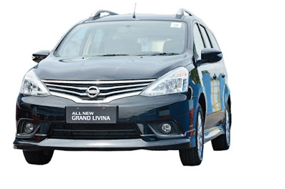 2016 New Nissan Grand Livina front look