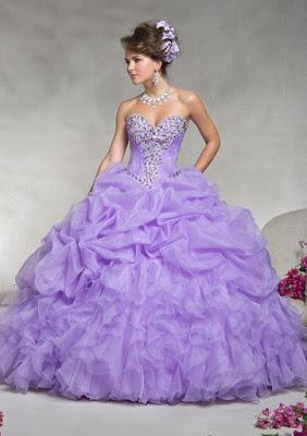 opciones de Vestidos de 15 Años Largos