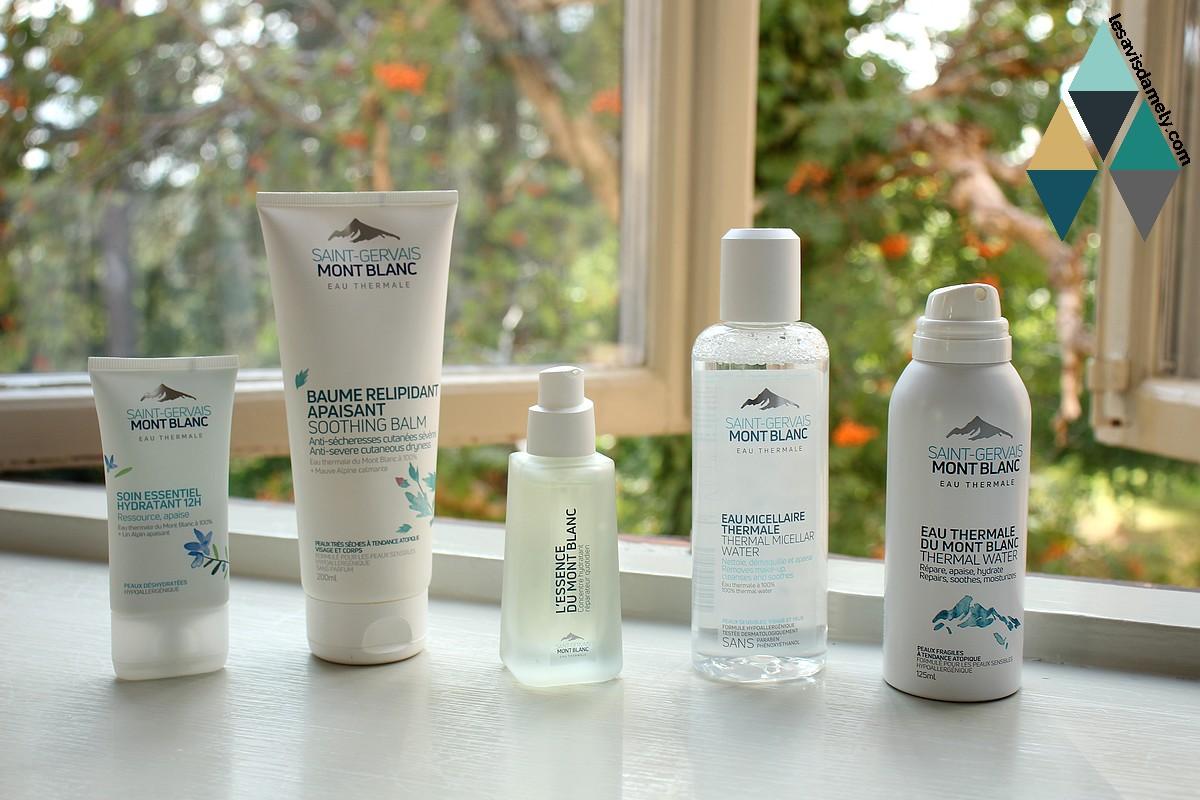 avis et test soins visage hydratants peaux sensibles saint gervais mont blanc