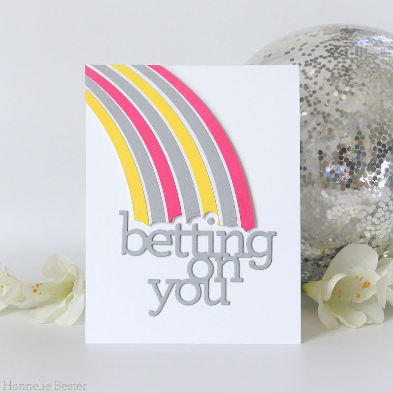 betting on you CZ design die - simon says stamp