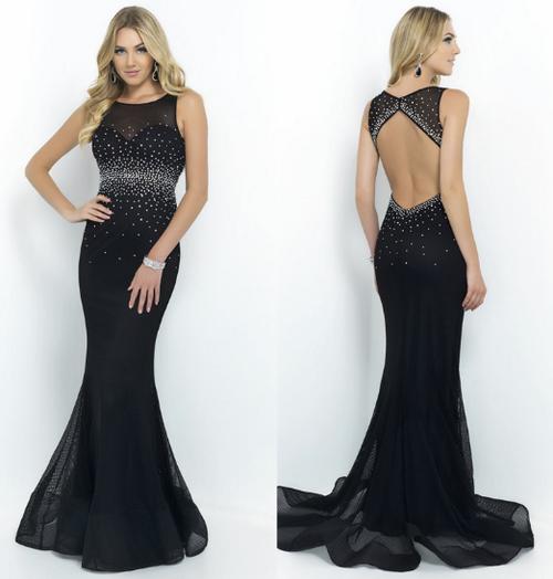 Modelos de vestidos de noche largos y originales
