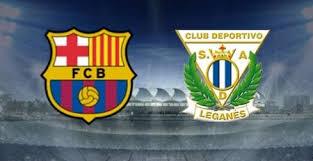 بث مباراة برشلونة وليغانيس