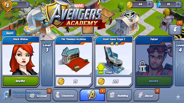 Download MARVEL Avengers Academy Hack Unlimited Money