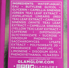 GlamGlow Glowsetter fiksator sastojci