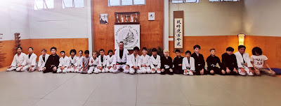 Auckland Kids BJJ Senior Team with Professor Adam Evans