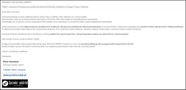 3 typy maila z ofertą - piotrkorniluk.pl